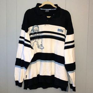 SOUTH POLE  LONG  SLEEVE RUGBY  SHIRT SZ XL